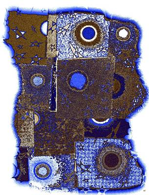 Abstract Fusion 225 Print by Will Borden
