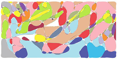 Vivacious Digital Art - Abstract by Keshava Shukla