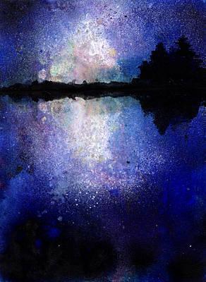 Abstract Landscape Print by Jennifer Pavia