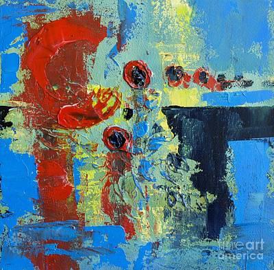 Abstract Landscape No 7 Print by Patricia Awapara