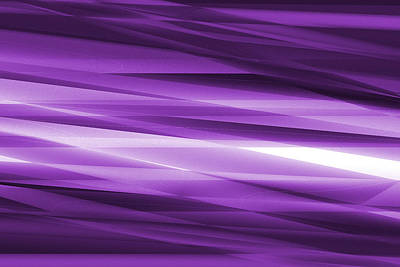 Abstract Modern Purple  Background Print by Somkiet Chanumporn