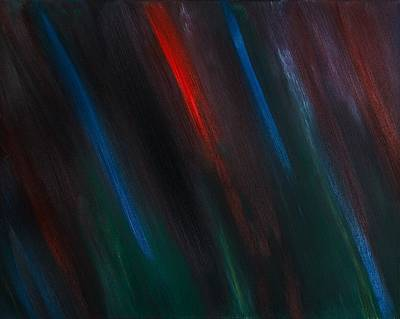 Prophetic Painting - Abstract No 3 Gratiae Dei by Brian Broadway