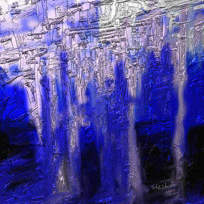 Abstract No. 55 Print by Shesh Tantry