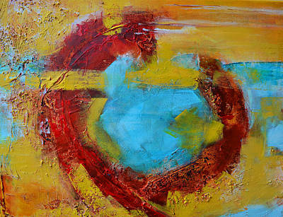 Earth Tones Painting - Abstract Painting Elements 1 by Patricia Awapara