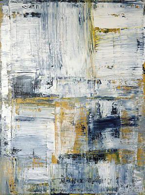 Abstract Painting No. 2 Print by Julie Niemela