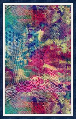 Abstract Rainbow Print by Maggie Vlazny