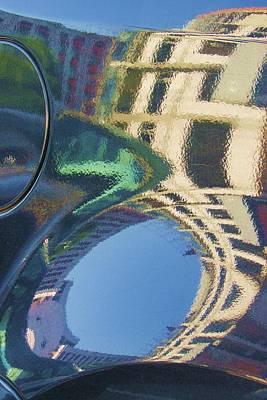Abstract Reflection #2 Print by Svetlana Rudakovskaya
