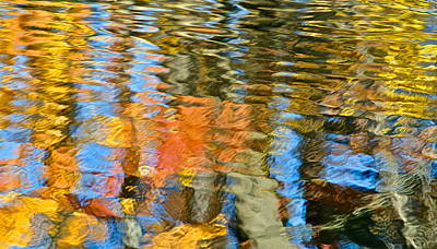 Abstract Reflection Print by Frozen in Time Fine Art Photography