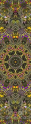 Abstract Rhythm - 27 Print by Hanza Turgul