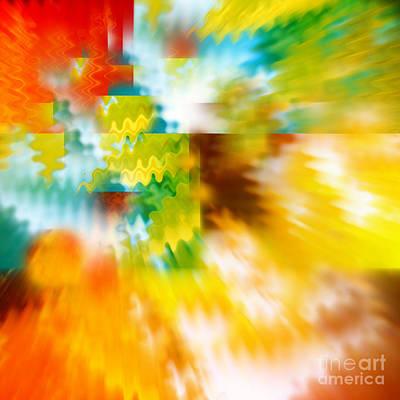 Orange Photograph - Abstract Spirit by Carol Groenen