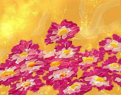 Digital Painting - Abstract Spring by Veronica Minozzi