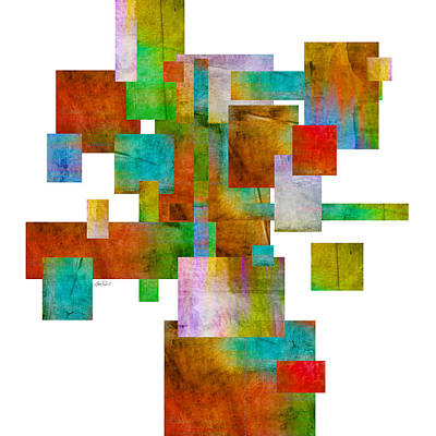 Abstract Study 22 Abstract- Art Print by Ann Powell