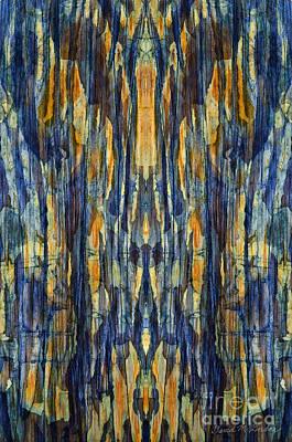 Chroma Digital Art - Abstract Symmetry I by David Gordon