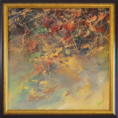 Quadri Painting - Abstract Thought By Mihaela Ghit by Mihaela Ghit