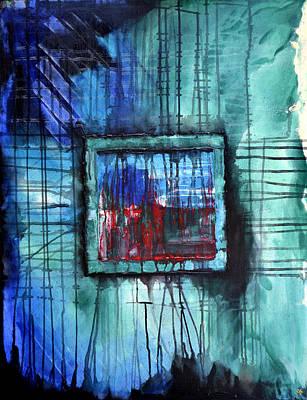 Abstract Windows Print by Jakub DK