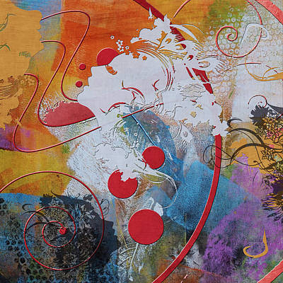 Elusive Painting - Abstract Women 012 by Corporate Art Task Force