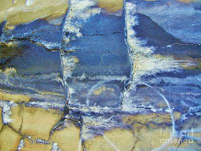 Abstract World Print by Reb Frost