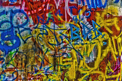 Abstract.7359 Print by Gary LaComa