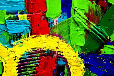 Abstract Expressionism Painting - Abstracted I by John  Nolan