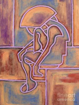 Fine Art Painting - Abstraction 153 by Patrick J Murphy