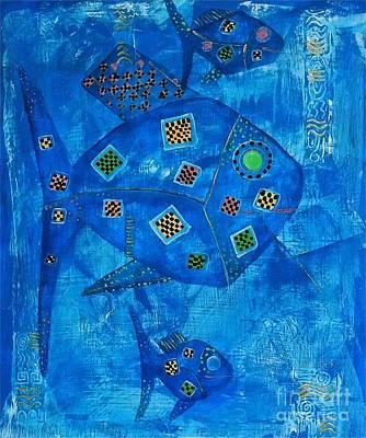 Abstraction 674 - Marucii Original by Marek Lutek