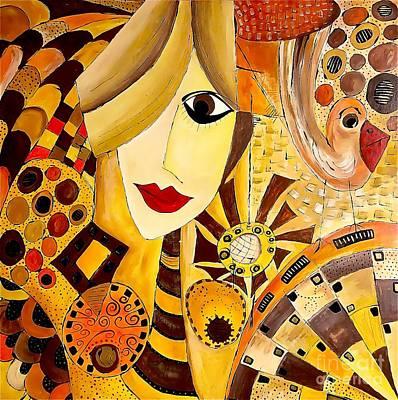 Abstraction 676 - Marucii Original by Marek Lutek