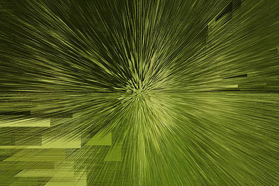 Licht Mixed Media - Abstraktes Zum Auftackt by Barbelotta