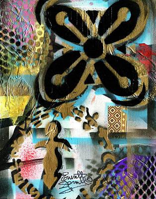 Wynton Marsalis Mixed Media - Abundance by Everett Spruill