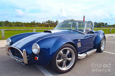 Bentley Photograph - Ac Cobra by Carey Chen