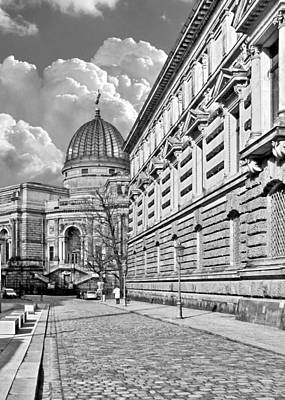 Academy Of Arts Dresden Print by Christine Till