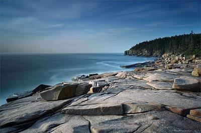 Landscape Photograph - Acadia Bar Harbor by Daniel Behm