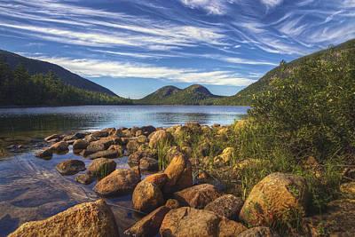 Desert Island Digital Art - Acadia National Park by Kenny Noddin