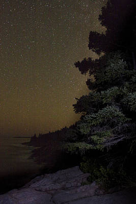 Acadia Stars 01 Print by Brent L Ander