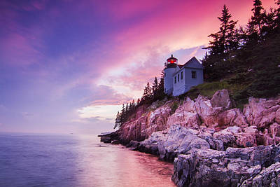 Laval Photograph - Acadia Sunset by Mircea Costina Photography