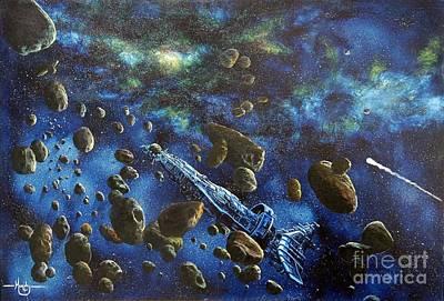 Accidental Asteroid Original by Murphy Elliott
