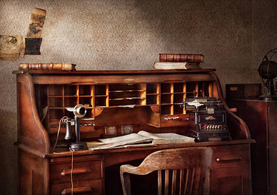 Accountant - Accounting Firm Print by Mike Savad