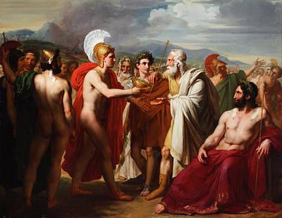 Achilles Painting - Achilles by Michel Martin Drolling