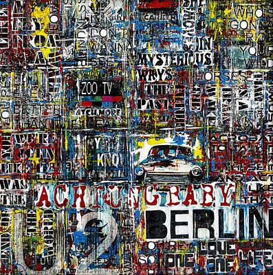 Achtung Baby Original by Frank Van Meurs