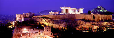 Acropolis Photograph - Acropolis, Athens, Greece by Panoramic Images