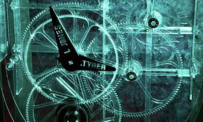 Mechanism Photograph - Acrylic Clock Design by Public Health England