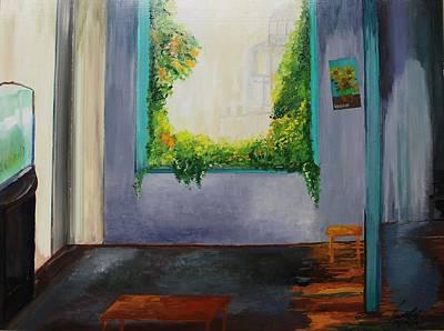 Still Life Painting - Acrylic Msc 041 by Mario Sergio Calzi