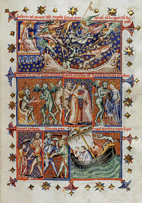 Actions Of Devils Print by British Library