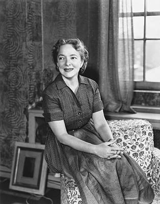 Actress Helen Hayes Print by Underwood Archives