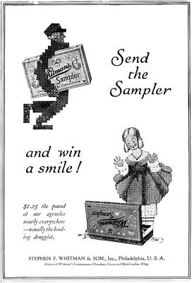 Candy Painting - Ad Candy, 1919 by Granger