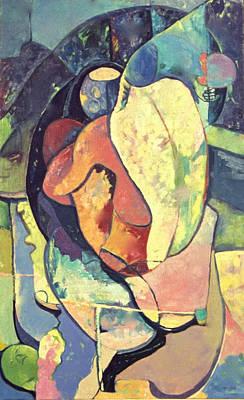 Jamaican Art Painting - Adam by John Powell