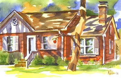 Adams Home Print by Kip DeVore
