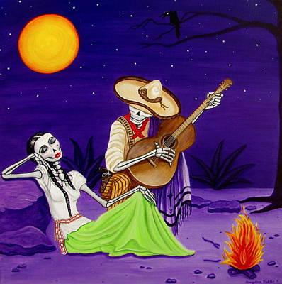 Adelita Y Juan Print by Evangelina Portillo