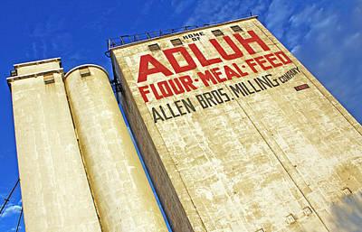 Feed Mill Photograph - Adluh Flour by Joseph C Hinson Photography