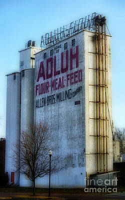 Feed Mill Photograph - Adluh Flower Mill by Skip Willits