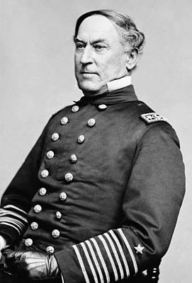 Admiral David Farragut Print by War Is Hell Store